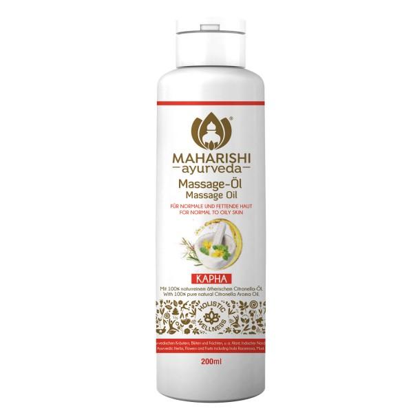 Kapha massage oil, Ayurveda, organic