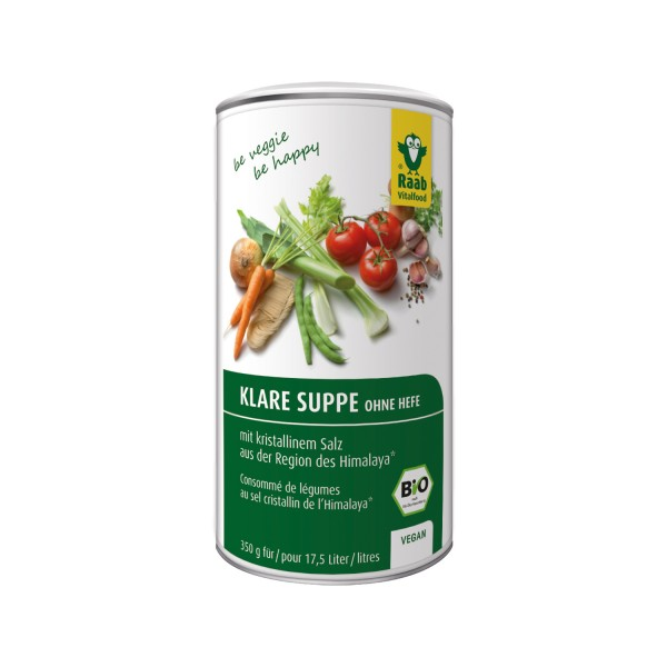 BIO clear soup - without yeast