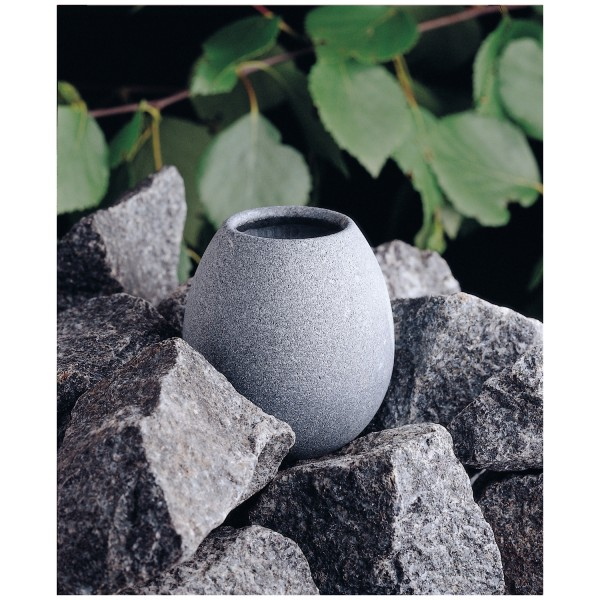 Sauna jacket scented cup infusion stone