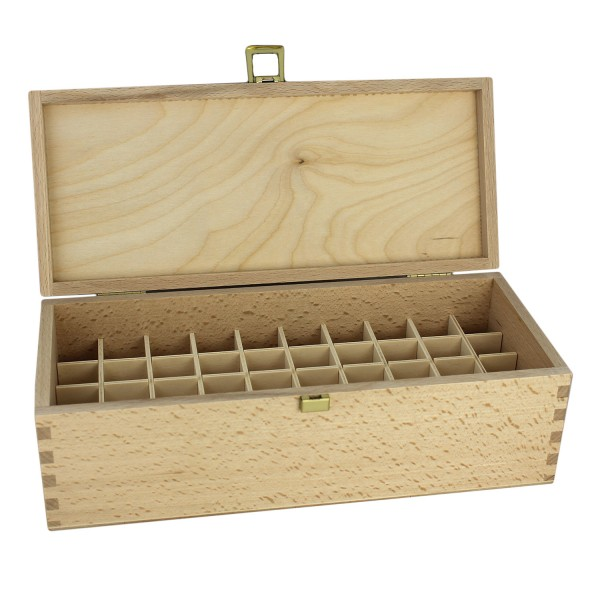 Bach flowers wooden box for 10 ml and 30 ml