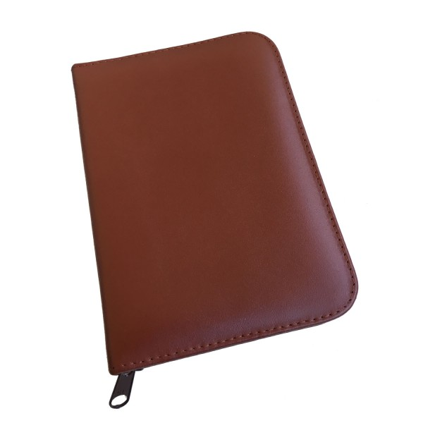 Homeopathy rugato leather case for 60 tubes