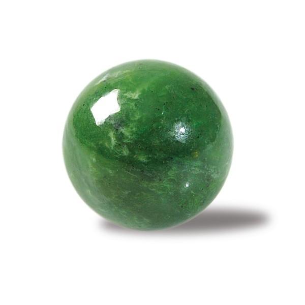 Nephrite jade stone ball Ø 3 cm