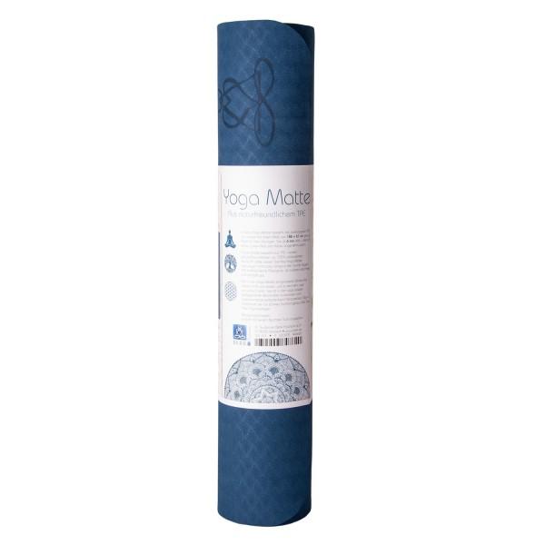 Yoga mat balance - blue - environmentally friendly (TPE)