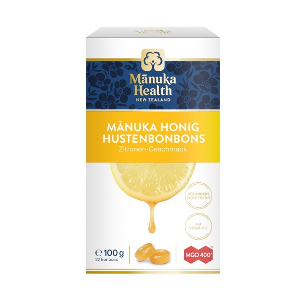 Manuka honey MGO lemon sweets