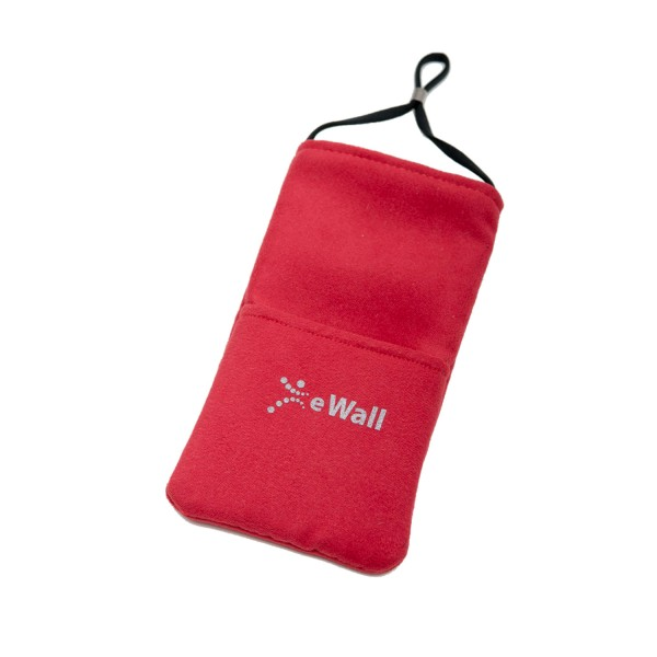 eWall Classic Red Radiation Protection Cell Phone Case