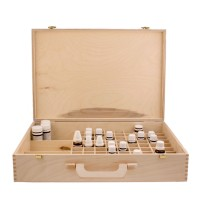 Homeopathy wooden case