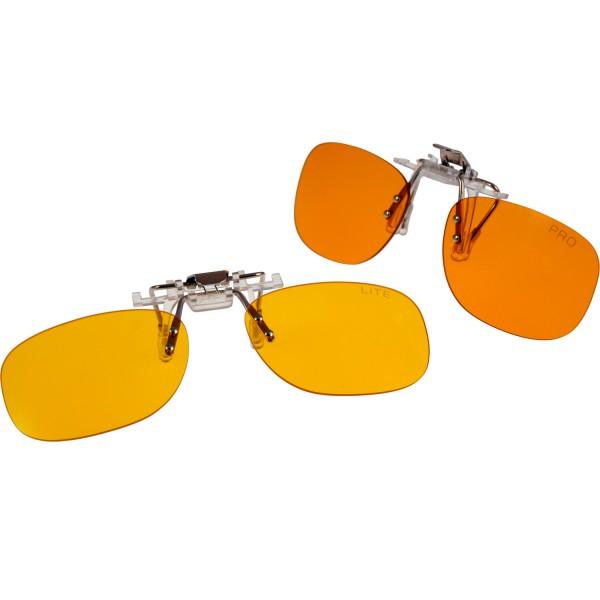 CLiP-ON monitor glasses