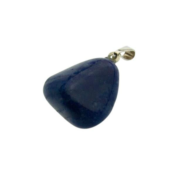 Blue quartz pendant