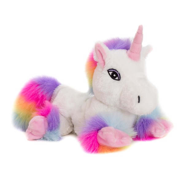 Unicorn white rainbow with Velcro