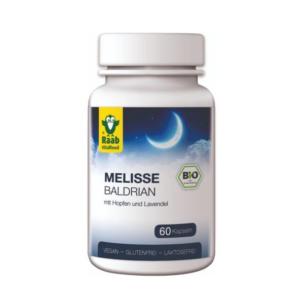 Lemon balm - valerian organic