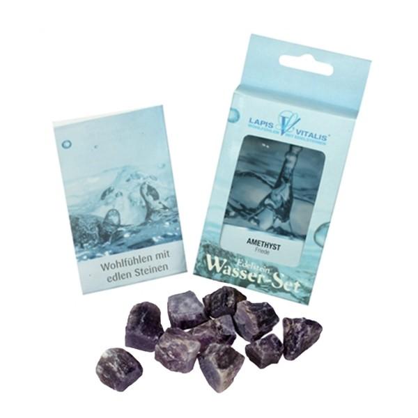 Amethyst water stones
