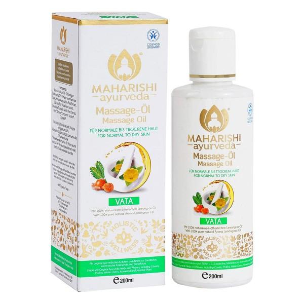Vata massage oil, Ayurveda, organic