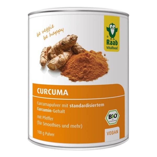 Organic turmeric powder with pepper