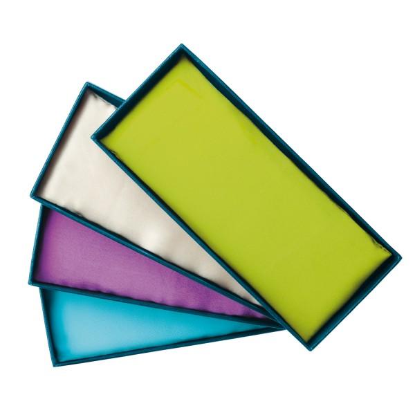 Gemstone eye pillow emerald