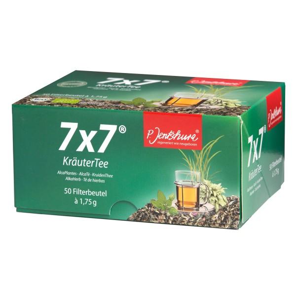 7x7® herbal base tea BIO by P. Jentschura with 49 herbs