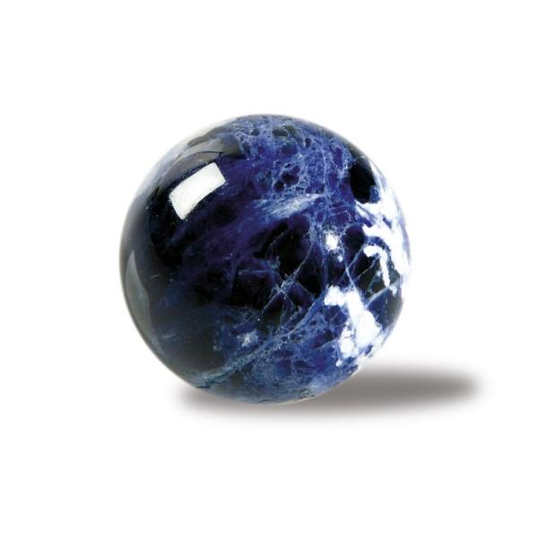 Sodalite stone ball