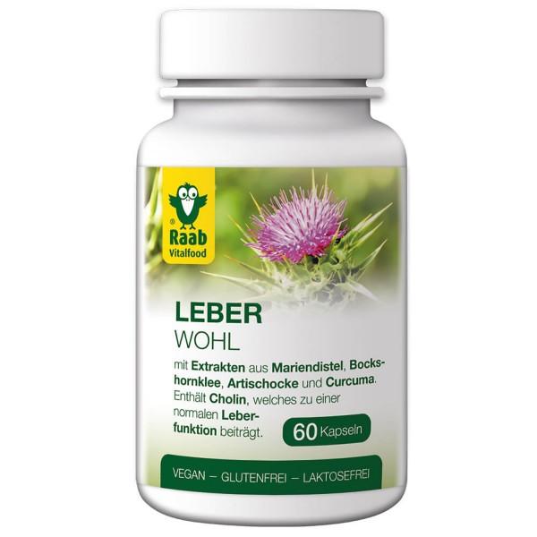 Leberwohl liver health capsules 60