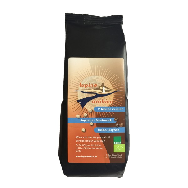 Lupino Arabica - 62% lupino, 38% roasted coffee