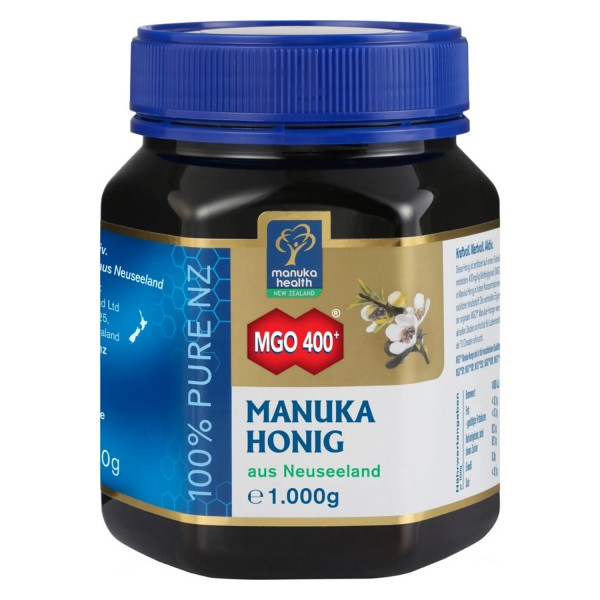 Manuka honey MGO 400+, 1000g from Manuka Health
