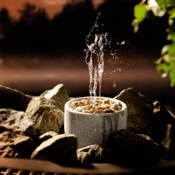 Saunatroikka water fountain