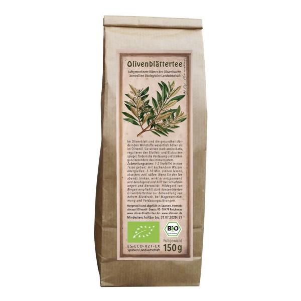 Organic olive leaf tea 150g