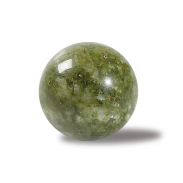 Epidote stone ball