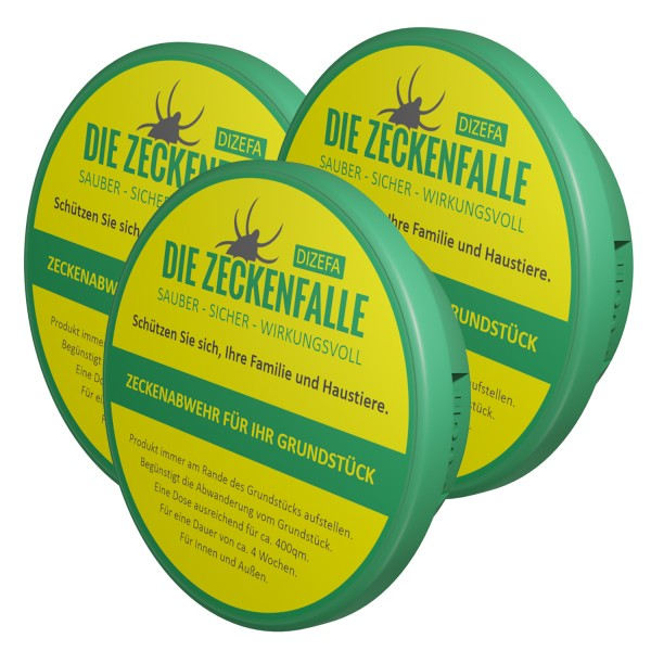 Tick traps 3 pack