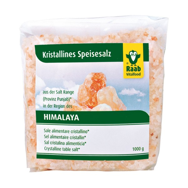 Himalaya crystal salt shaker