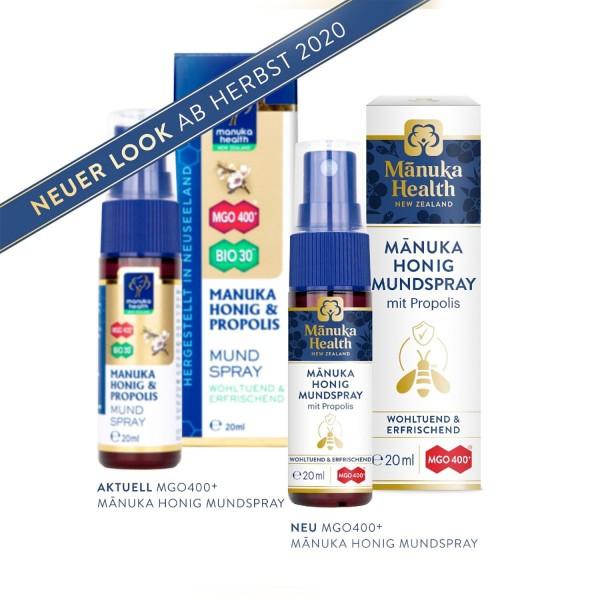 MGO 400+ Mouth Spray Manuka Honey & Propolis
