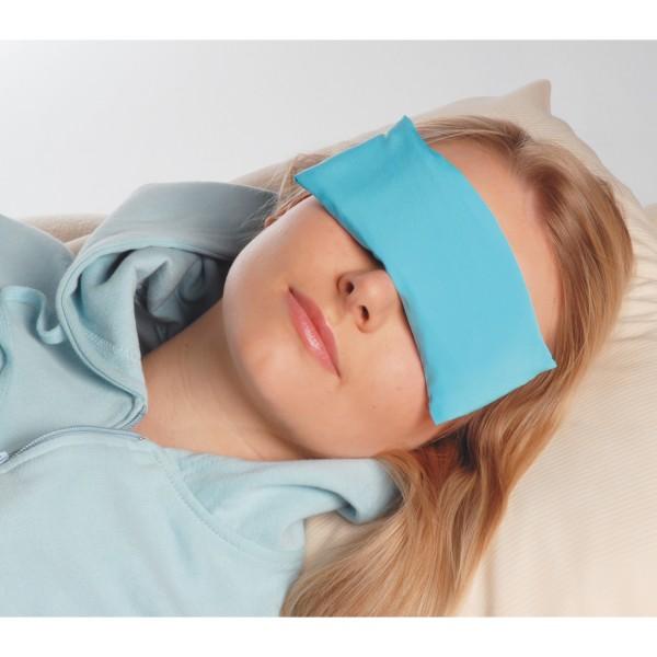 Aquamarine Gemstone Eye Pillow